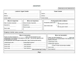 Landlord Inventory Template Awesome Landlord Inventory Mpla 48 Download Free Documents In Word Inside