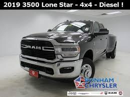 2019 Dodge Ram 3500 Lone Star 3C63RRHL4KG525123   Bonham Chrysler ...