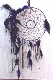 Dream Catcher Vancouver Wiccan night dreamcatcher with hematite clear quartz and 6