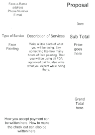 Contractor Proposal Template How To Bid A Painting Job