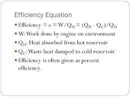9 efficiency equation