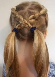 تسريحات للمدرسه اجمل تسريحه شعر للاطفال فى المدرسه دلع ورد