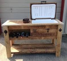 wood cooler wooden cooler patio cooler