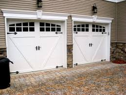 carriage garage doorSteel carriage house garage doors  AJ Garage Door  Long Island NY