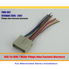 compare prices on wiring car stereo online shopping buy low price Wiring Harness Adapter For Car Stereo That Keep Factory Wires for hyundai sonata 2006 2007 male iso radio wire cable wiring harness car