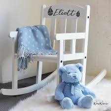 personalised christening letter for s personalised rocking chairs for boys