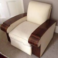 art deco leather chairs art deco club chair