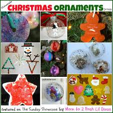 Mom to 2 Posh Lil Divas: Kids DIY Homemade Christmas Ornaments ...