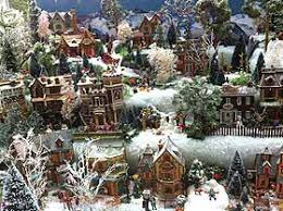Christmas Tree Village Display Stands Building Display Stands Christmas Village Displays 35