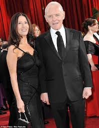 anthony hopkins family. Contemporary Family Glamorous Sir Anthony Hopkins And Wife Stella Arroyave For Family H