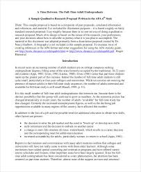 A Sample Of A Proposal Free 59 Proposal Examples In Pdf Examples