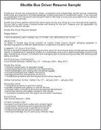 Sample Bus Driver Resume Truck Driver Resume Format Sample For