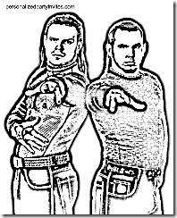 Wwe Coloring Pages Of Jeff Hardy Murderthestout