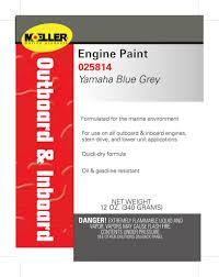 Engine Paint Color Yamaha Blue Grey
