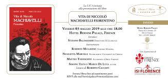 Presentazione Vita di Niccolò Machiavelli Fiorentino – Cinquecento Plurale