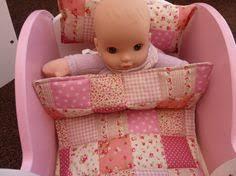 Dolls Cot Bedding Set. 3 or 4 Piece. Quilt/Comforter - Pillow ... & Dolls Pram Bedding 3 Piece Set Pillow Mattress & by KazCousins Adamdwight.com