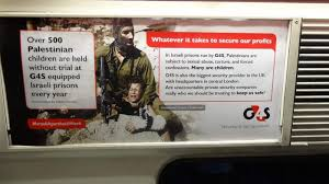 Activists plaster London trains with 'Israeli apartheid week ...