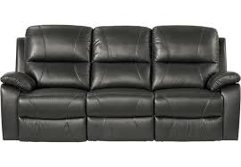 black leather reclining sofa. Black Leather Reclining Sofa L