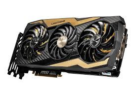 Rtx 2080 Ti Lighting Z Msi Announces Geforce Rtx 2080 Ti Lightning Z Videocardz Com