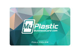 Glossy Plastic Business Cards My Plastic Business Card
