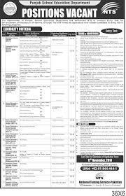 punjab educators science arts jobs 2016 advertisement application punjab educators science arts jobs 2016 advertisement application form