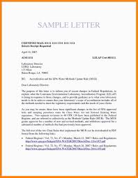 Certified Letter Format Examples 4 Emergency Essentials Hq