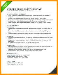 Welder Resume Examples Classy Welder Fabricator Resume Resume Ideas Pro