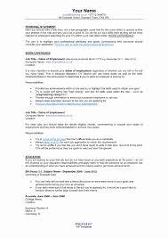 Resume For Abroad Format Luxury Curriculum Vitae Cv Format