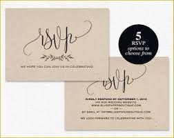 Wedding Rsvp Postcard Template Free Of Rsvp Postcard Rsvp