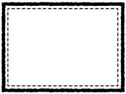 運動会青空と紅白の旗と校庭のフレーム飾り枠イラスト 無料イラスト