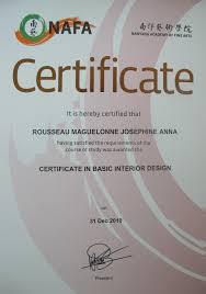certificate of interior design. Interior Decorating Certificate Photo - 3 Of Design N