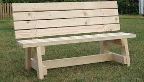 simple garden bench seat project metric version diy garden bench plans