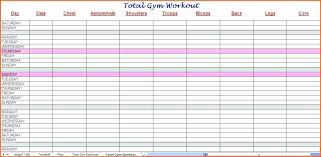 Workout Schedule Template Excel Unique Printable Workout Calendar