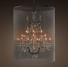 restoration hardware vaille crystal chandelier extra large 4595 for new household industrial crystal chandelier ideas