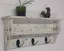 Shabby Chic Coat Rack Shabby chic rack Etsy 54