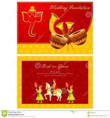 indian wedding invitation card stock vector image 48582270 Indian Wedding Card Free Vector card illustration indian invitation vector wedding indian wedding card design vector free download
