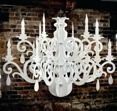 cut out chandelier wooden