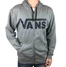 vans zip up hoodie. image is loading vans-off-the-wall-men-039-s-fleece- vans zip up hoodie