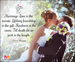 Marriage Love Quotes Simple 48 Love Marriage Quotes To Make Your DDay Special