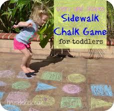 outdoor activities for preschoolers. Fun \u0026 Simple Outdoor Toddler Activity: Colors Shapes Activities For Preschoolers R