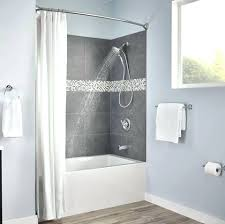 moen curved tension shower rod amazing in tension mount chrome curved adjule single bowed shower
