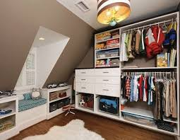 Wall Of Closet Organizers In Room With No Closet