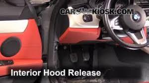 interior fuse box location bmw z bmw z check the belts 2009 2016 bmw z4