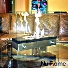 nu flame fireplace bio ethanol fuel impressive tabletop for modern instructions