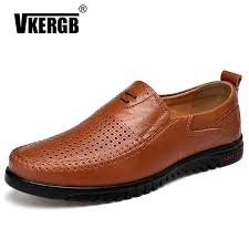 <b>Hand Sewing</b> Men <b>Genuine Leather</b> Boat Shoes Casual Flats ...