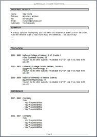 Resume Format Doc Download Cryptoave Com