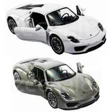 porsche 918 spyder white. welly 134139 diecast porsche 918 spyder car grey white