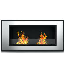 ethanol wall mounted fireplace soho ventless mount m l f