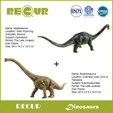brachiosaurus size 2 pcs lot recur toys jurassic dinosaur original design brachiosaurus