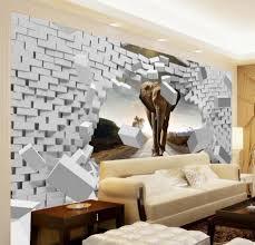 Beibehang Große Eigene Tapete 3d 3d Weiche Tasche Luxus Swan Blume